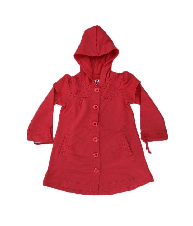 Quarter Spoon Hooded Long Jacket