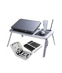 NewveZ Table For Laptop Notebook With 2 USB Cooling Fans for sale  Delivered anywhere in India