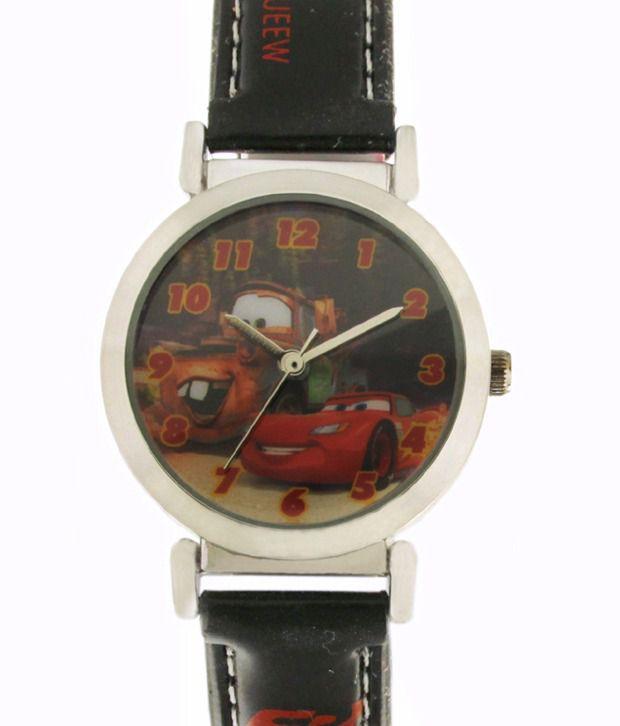 Disney 3K1119U-CR (BLACK) Kid's's Watch