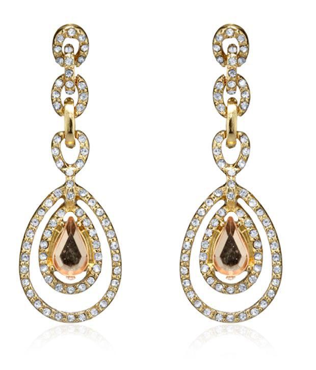 Pari Golden Style Diva earrings