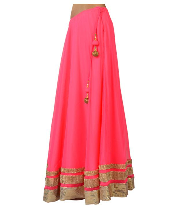 Buy 9Rasa Pink Net Skirts Online at Best Prices in India - Snapdeal