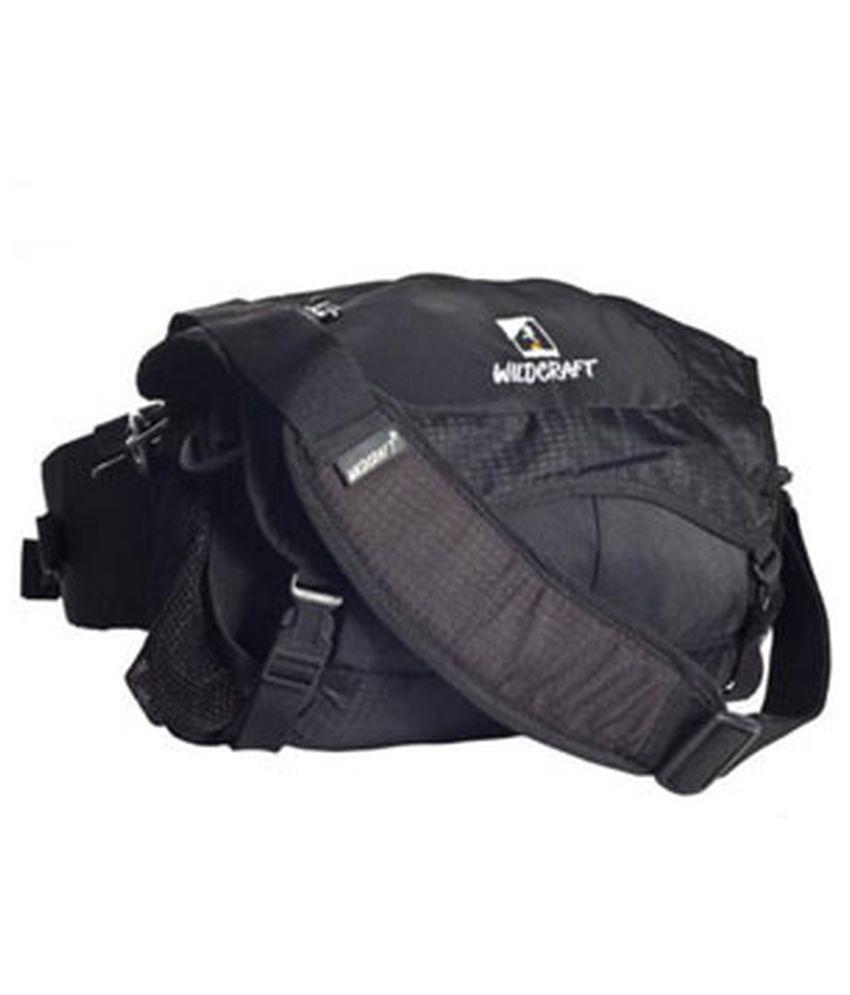 Wildcraft Bum Bag Black Backpack (Black)