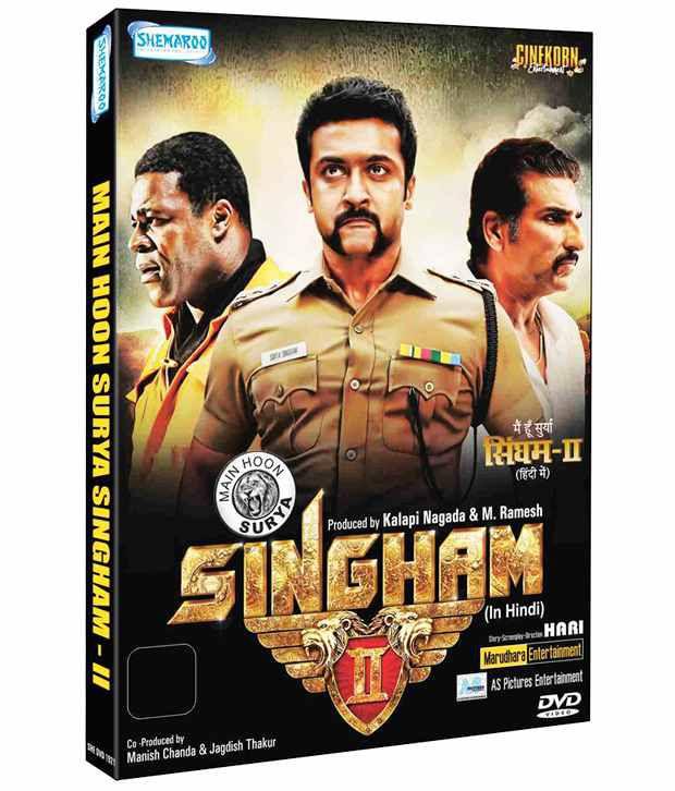 Main Hoon Surya Singham 2 (Hindi) [DVD]: Buy Online at ...