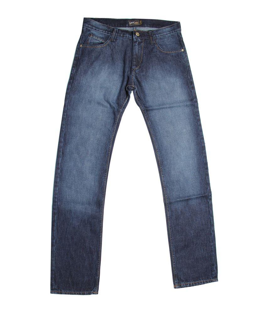 Lee Cooper Originals Exclusive Blue Faded Jeans