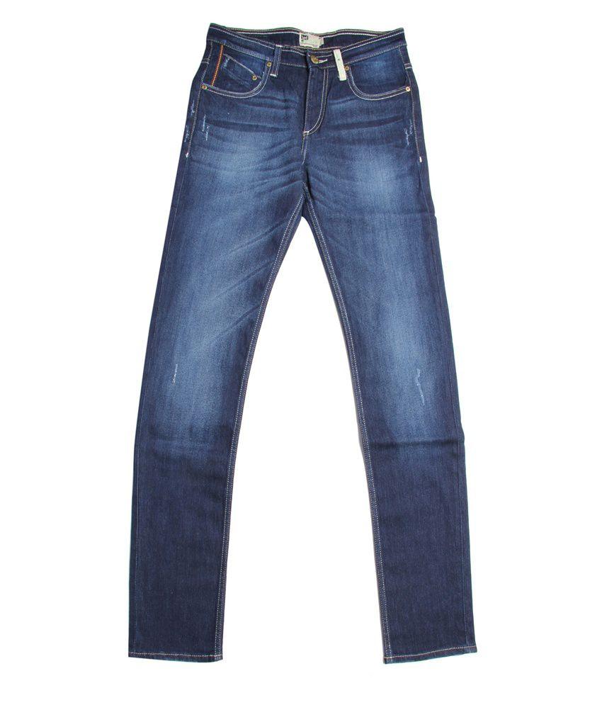 Lee Cooper Originals Dark Blue Faded Jeans