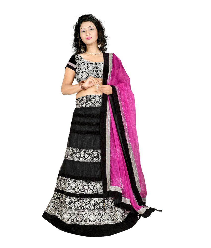 Astha Fashion Designer Black Lehenga Buy Astha Fashion Designer Black Lehenga Online At Best