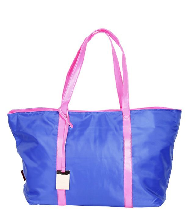 Imported Bag CH046BLUPNK Tote Bag