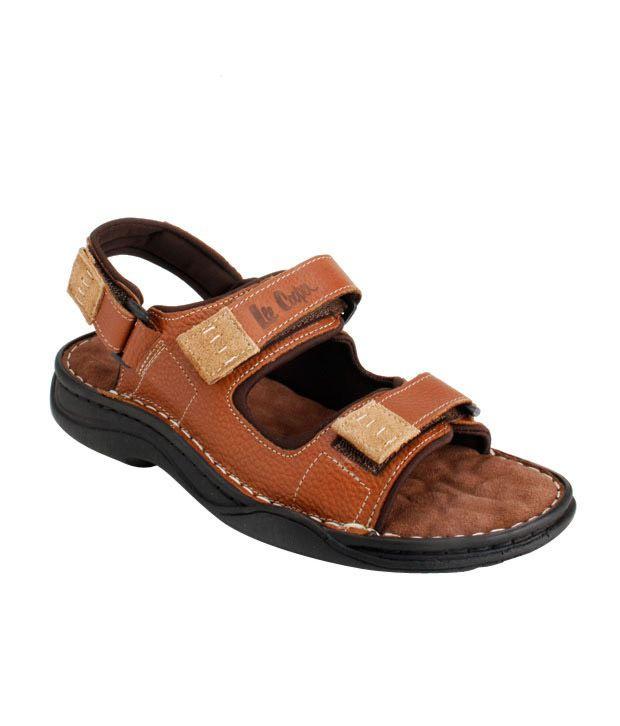 Lee Cooper Classy Brown Sandals