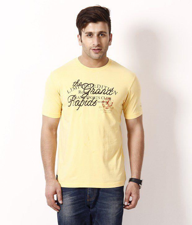 Octave Dashing Yellow T Shirt