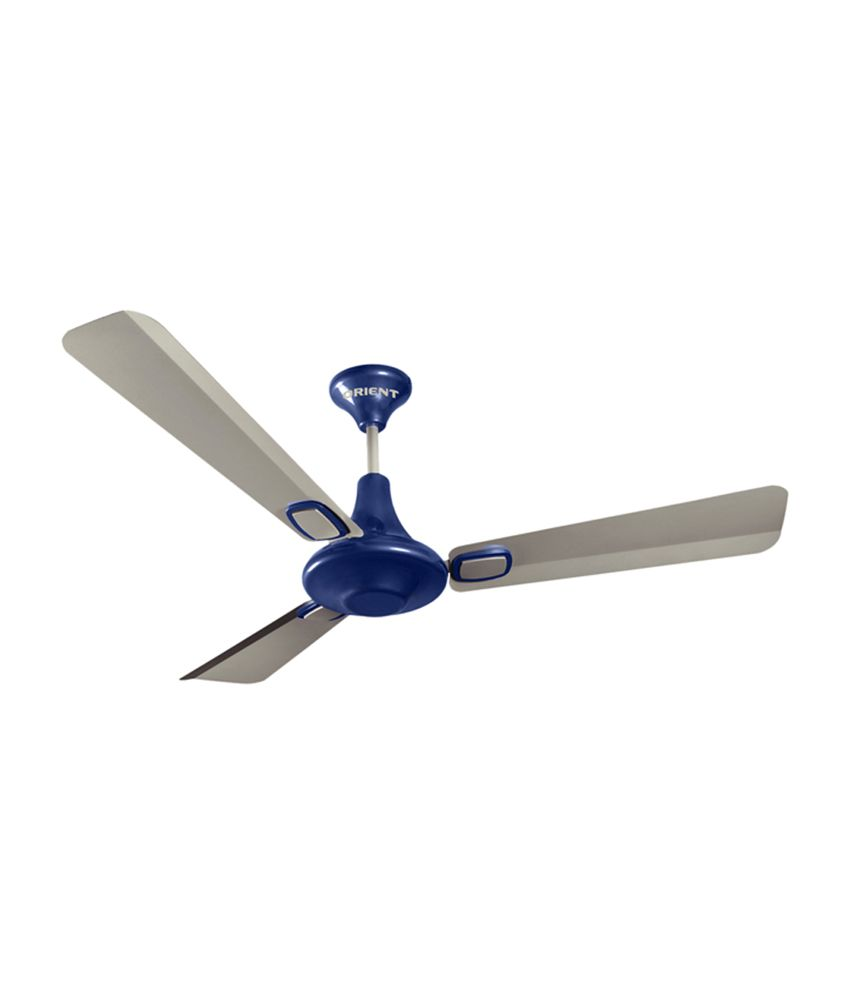 Orient 1200 Mm Amara Ceiling Fan Silver Blue Price In