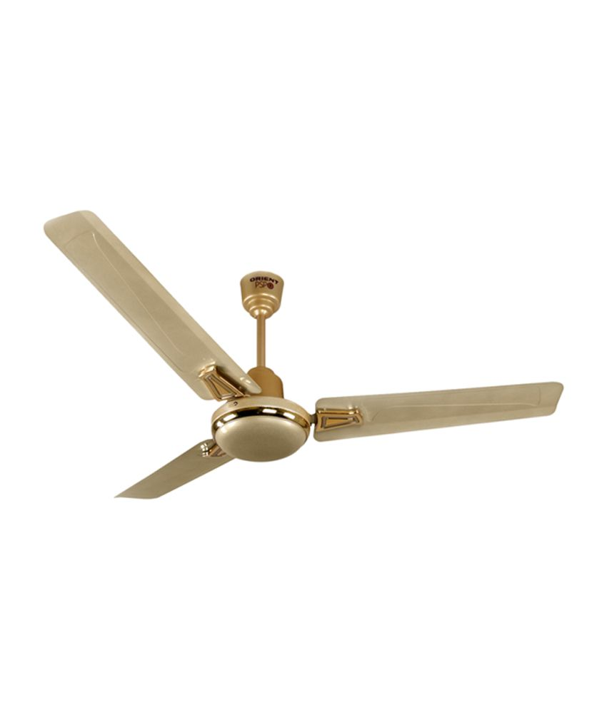 Orient 1200 Mm Summer Crown Ceiling Fan Orient Gold Price