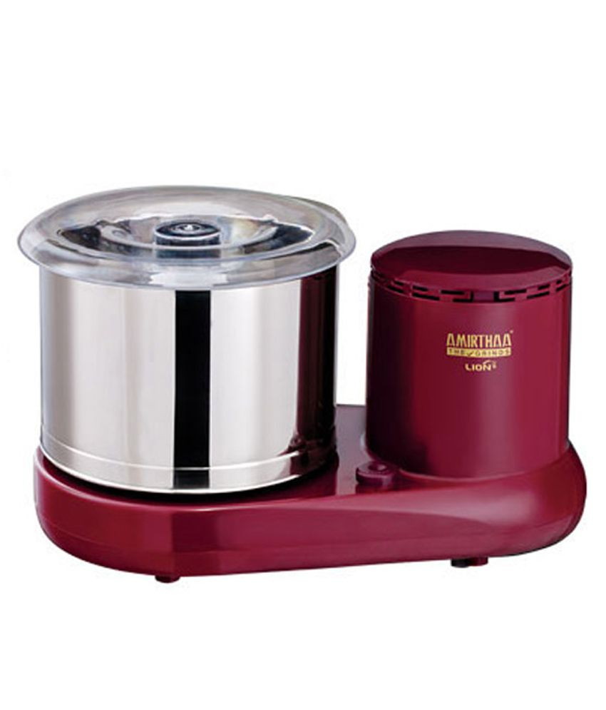 Amirthaa Lion Table Top Wet Grinder Price In India Buy
