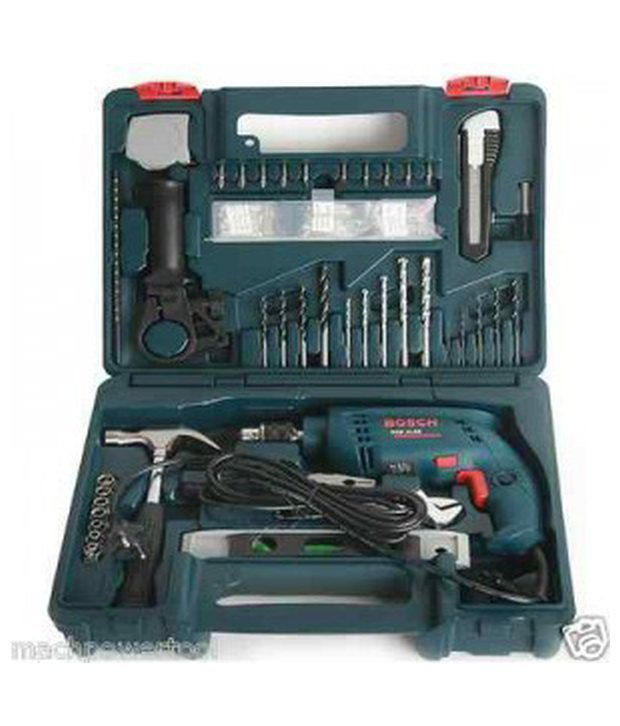 bosch gsb 13 re impact drill with smart tool kit 13mm 600w. Black Bedroom Furniture Sets. Home Design Ideas