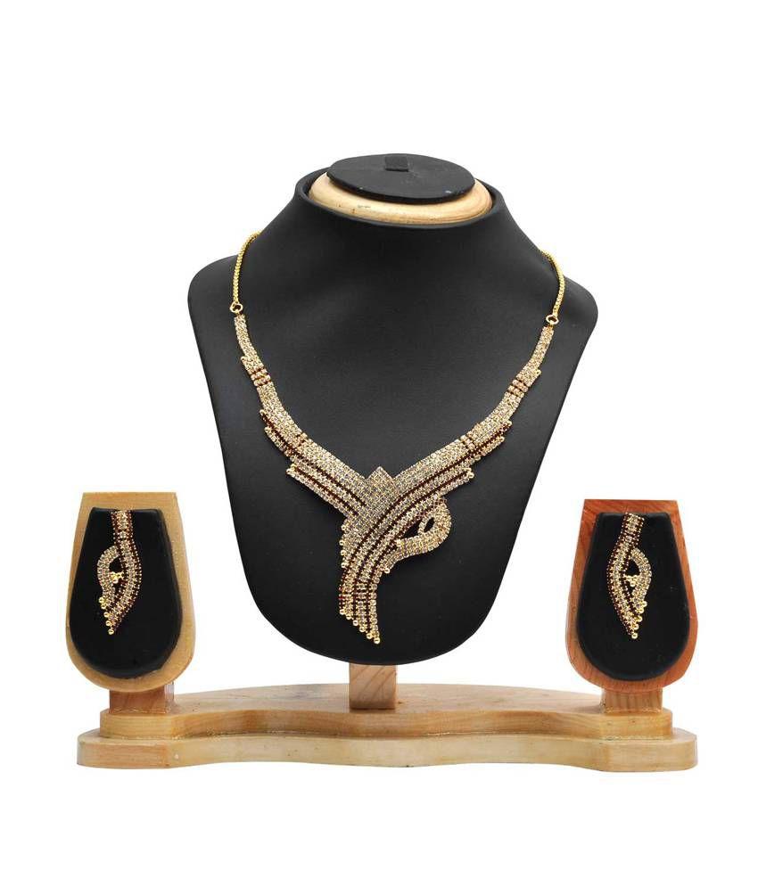 Hawai Austrian Diamond Necklace Set