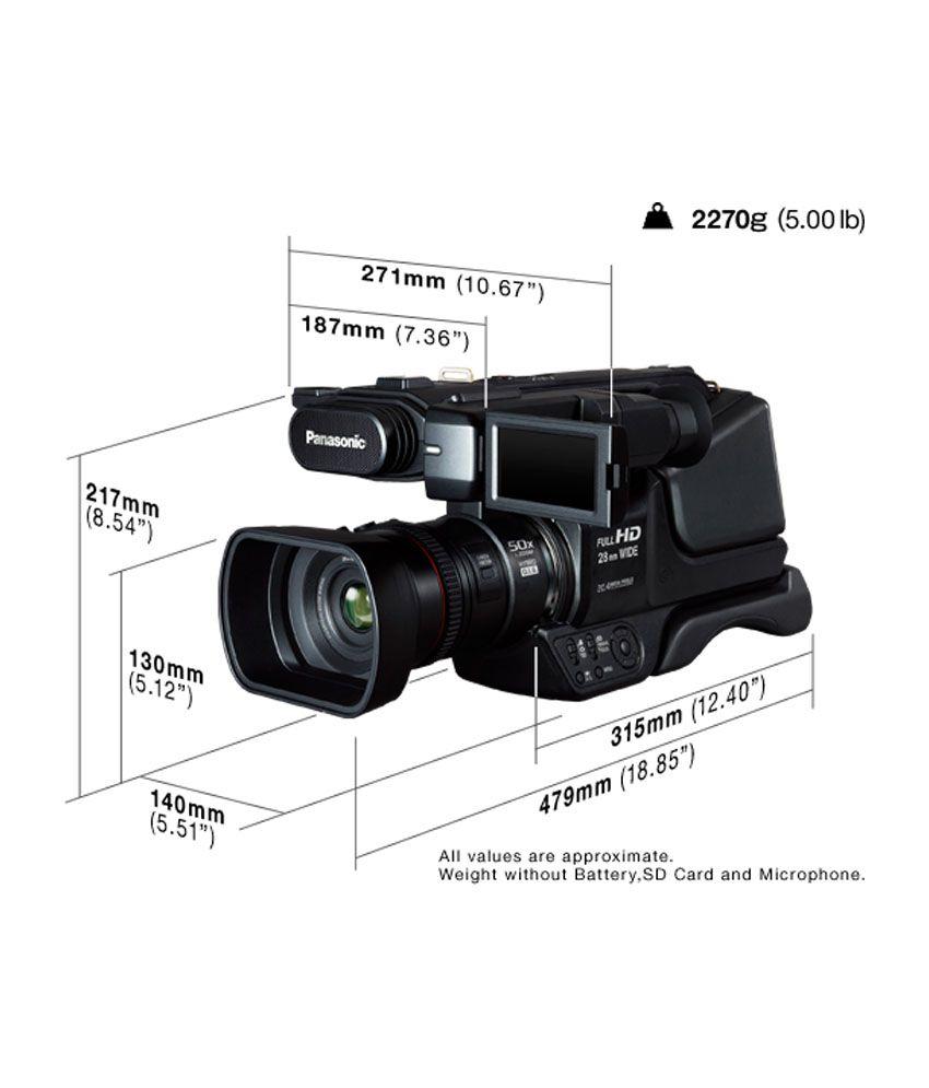 Panasonic HDC-MDH 2 Professional Camcorder (Black)