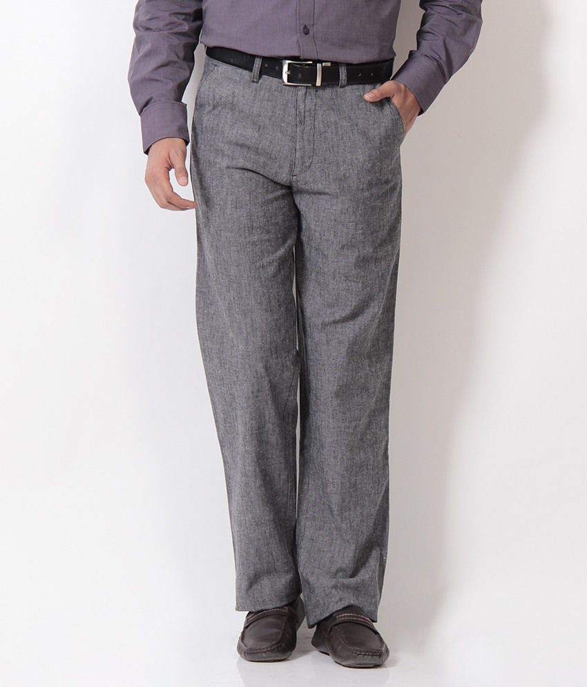 Boston Grey Formal Trouser