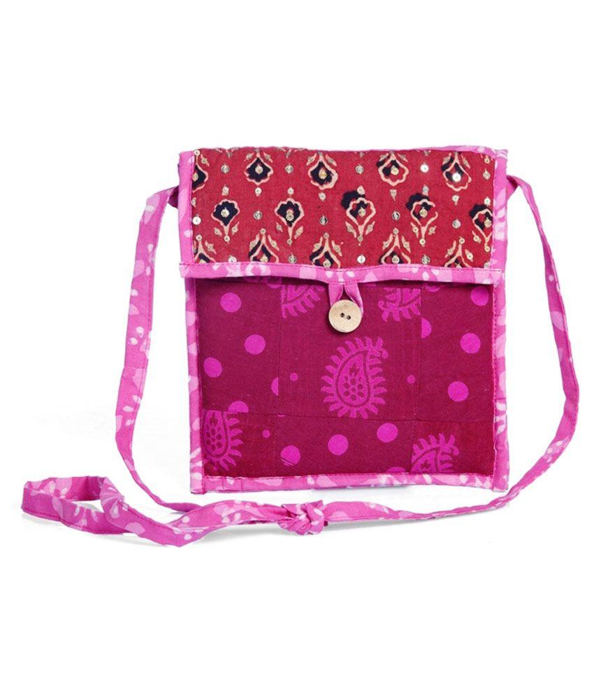 Desi Weaves Beautiful Sling Bag