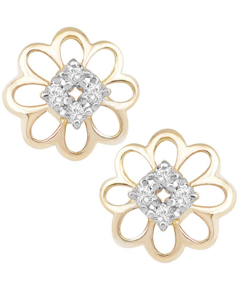 Kasa Creation Diamond Studded Earrings