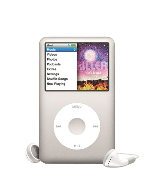 Apple Ipod Classic 6Th Generation 160 Gb Silver
