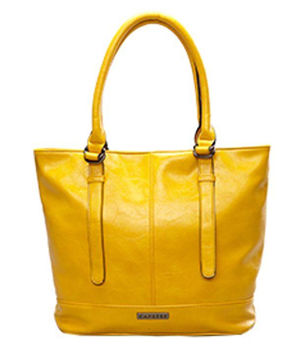 Caprese 8901188395853 Yellow Shoulder Bag