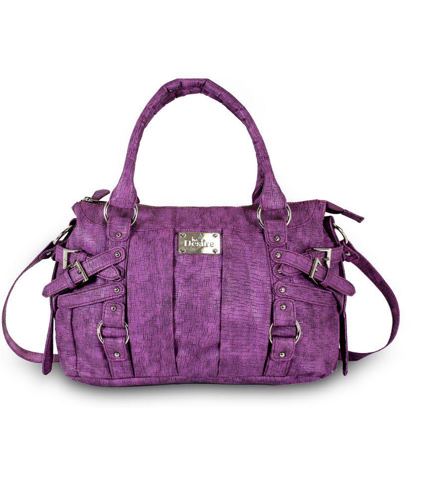 Moda Desire Purple Morni Shoulder Bag