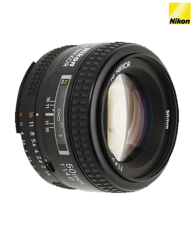Nikon AF Nikkor 50 mm f/1.4D Lens