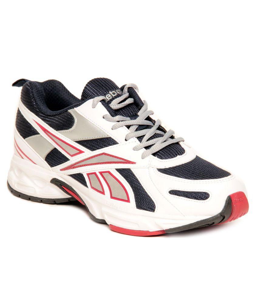 8c3bfb1541f Reebok Acciomax III Lp White & Blue Running Shoes - Buy Reebok ...