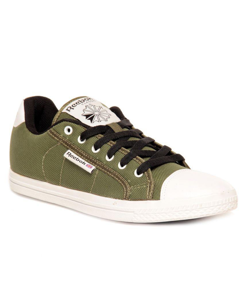 86276b9bcabf4 Reebok Green Sneaker Shoes - Buy Reebok Green Sneaker Shoes Online ...