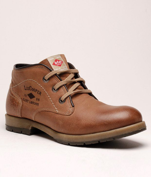 e4fb0e59e34 Lee Cooper Impressive Tan Ankle Length Dress Boot - Buy Lee Cooper  Impressive Tan Ankle Length Dress Boot Online at Best Prices in India on  Snapdeal