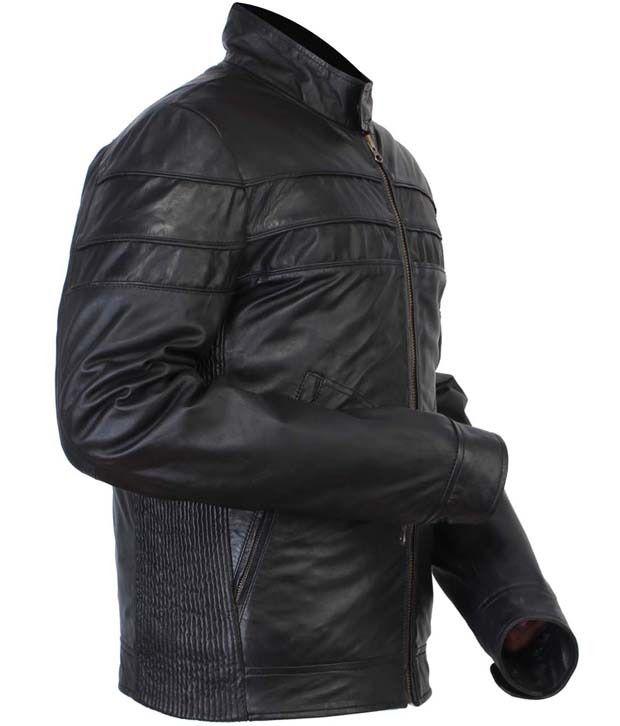 854e90400a5 Bareskin New Black Leather Jacket for Men - Buy Bareskin New Black ...