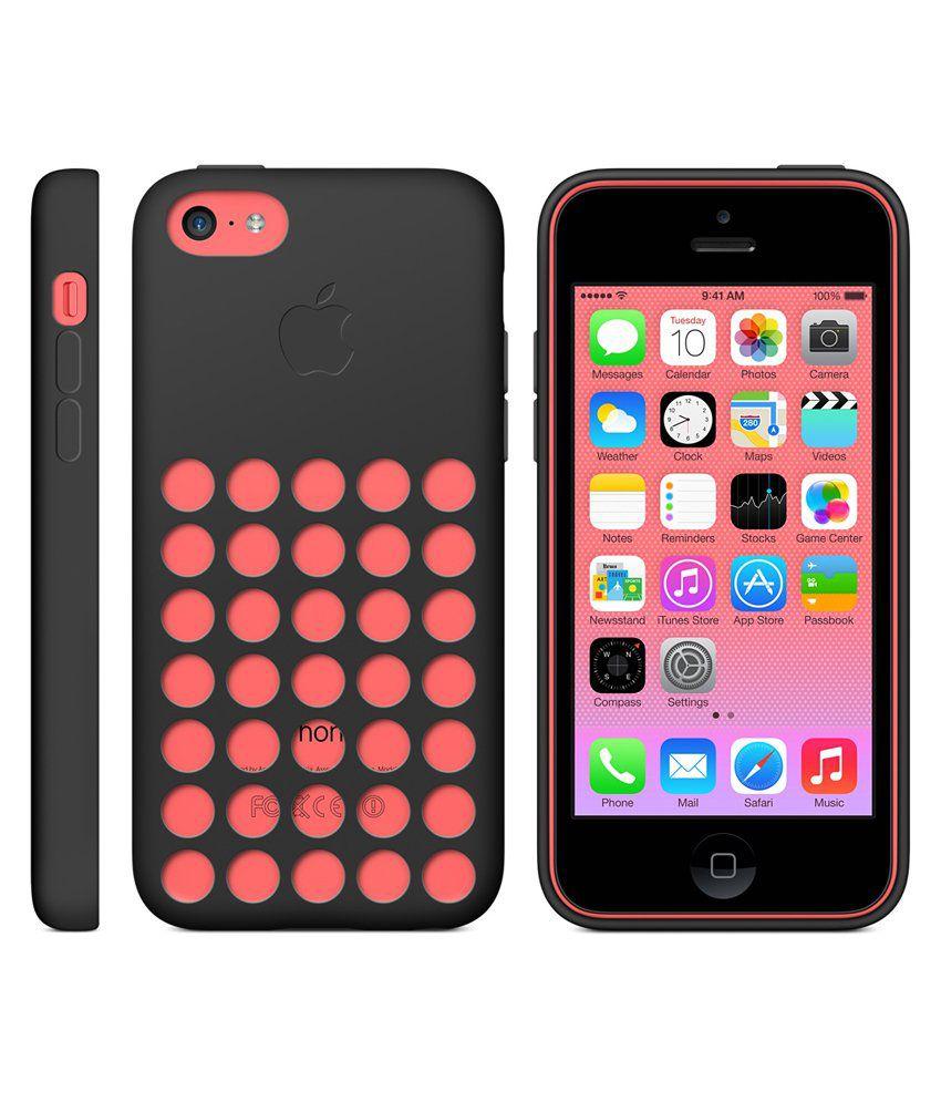 best sneakers 66491 546b0 Apple Original Back Case for Apple IPhone 5C Black