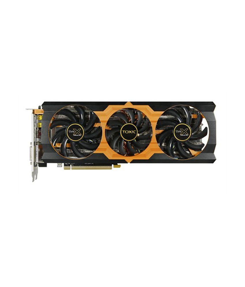 Sapphire AMD/ATI TOXIC R9 280X 3G GDDR5 PCI-E DL-DVI-I+SL-DVI-D / HDMI /  DUA Graphics Card