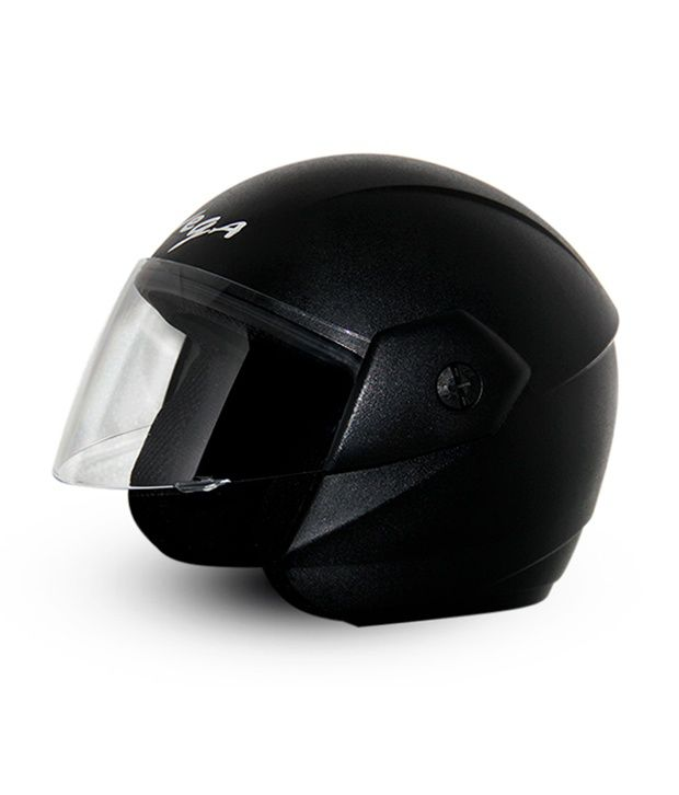 54d7c2191 Vega - Open Face Helmet - Ridge (Black ): Buy Vega - Open Face ...