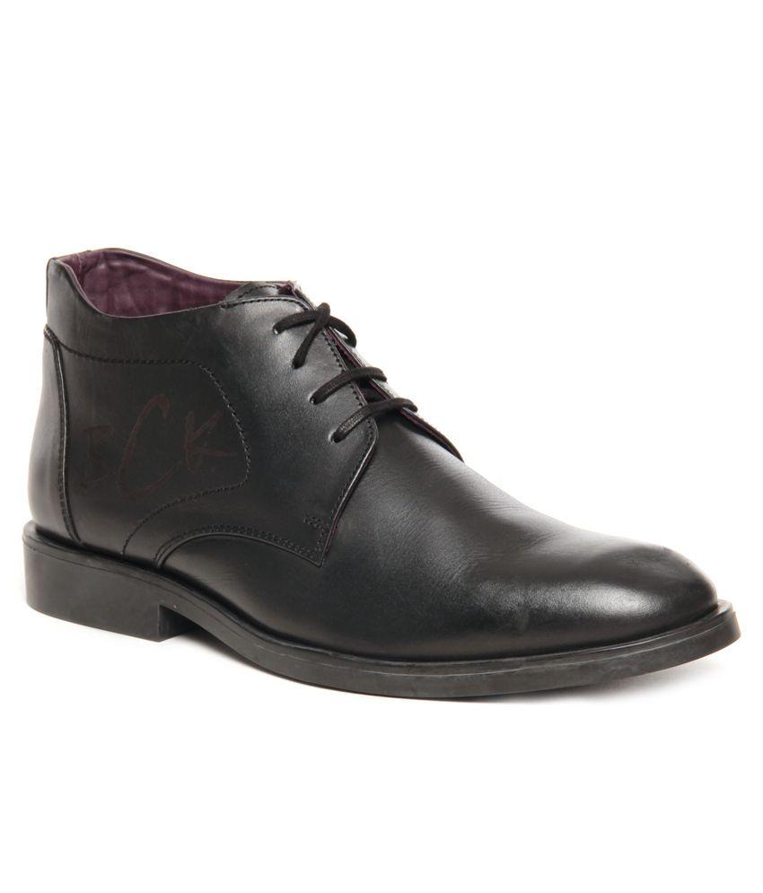 buckaroo black formal shoes price in india buy buckaroo