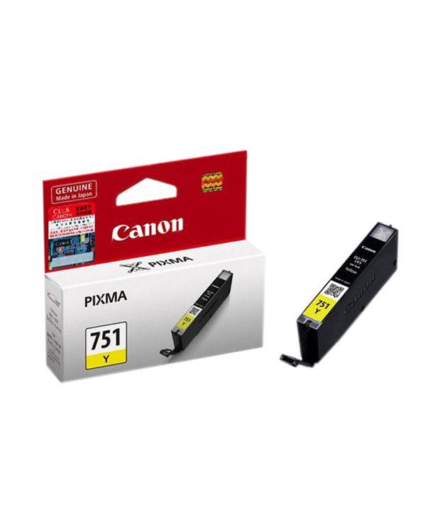 Canon CLI751 Y Ink Cartridge (Yellow)