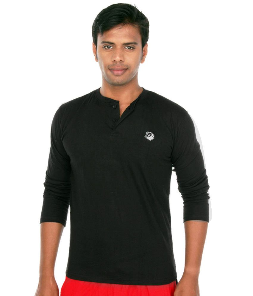 Black full hand t shirt is shirt for Full black t shirt