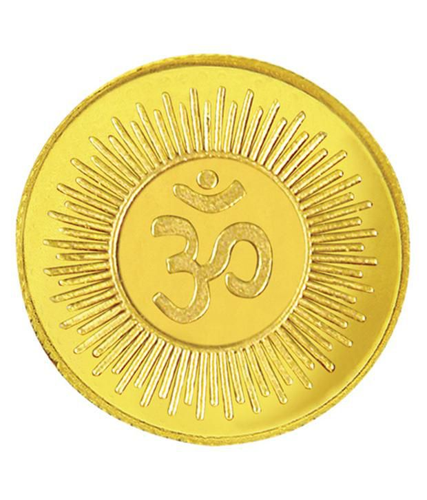 Upto 20% Off On Gold Coins & Bars By Snapdeal | 5 gram 995 Purity Gold Coin by Om Gold @ Rs.16,090