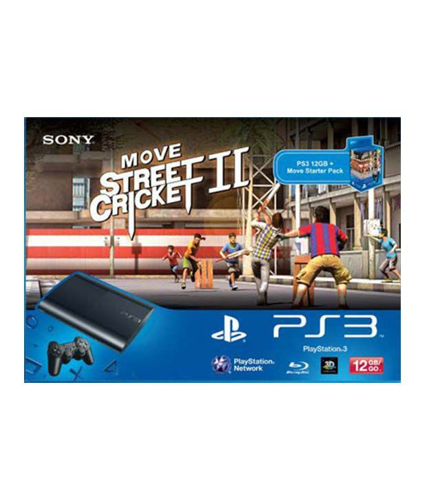 Sony Playstation 3 (12GB) with Move Starter Pack