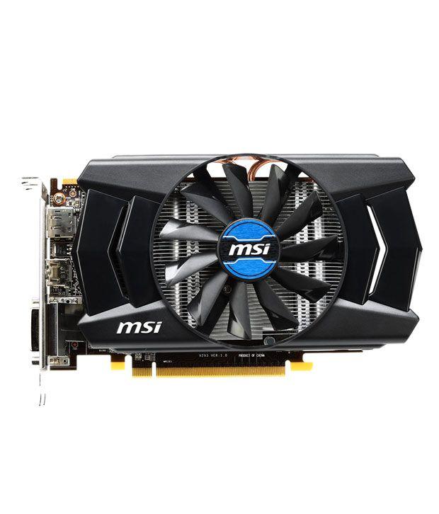 MSI AMD 2 GB DDR5 Graphics card
