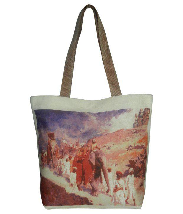 The House of Tara HTT-131 Multicolor Tote Bag