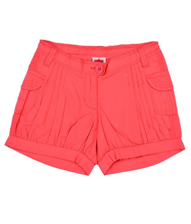 612Ivyleague Stunning Coral Shorts For Kids