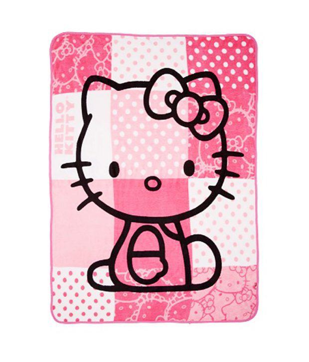 Sanrio Hello Kitty Plush Throw Blanket Pink Plush Blanket Buy Enchanting Hello Kitty Fleece Throw Blanket