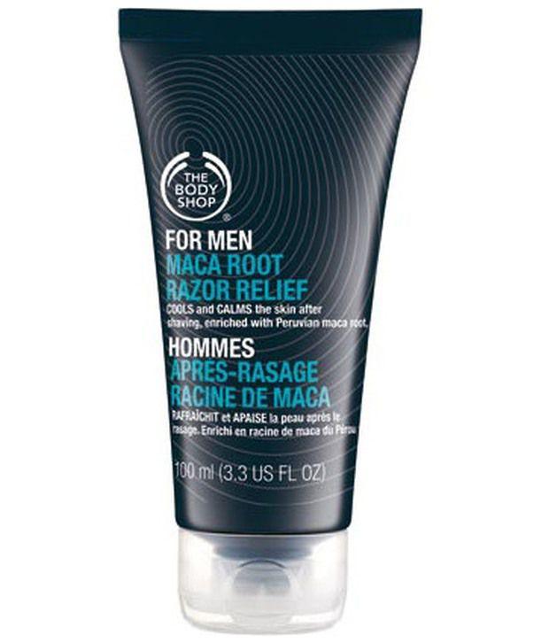 The Body Shop For Men Maca Root Razor Relief Aftershave Cream 100 ml