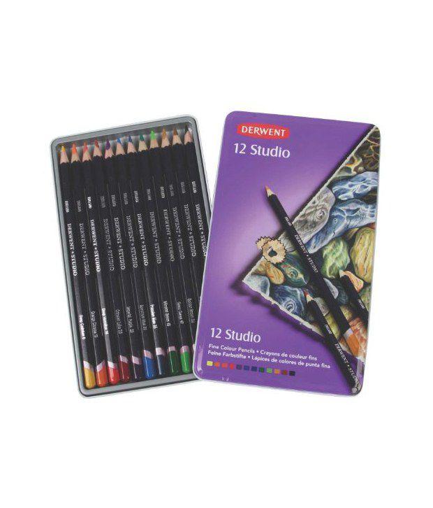 how to use derwent studio pencils