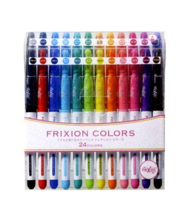 Pilot Frixion Erasable Colors Marker Pen 24 Color Set Buy