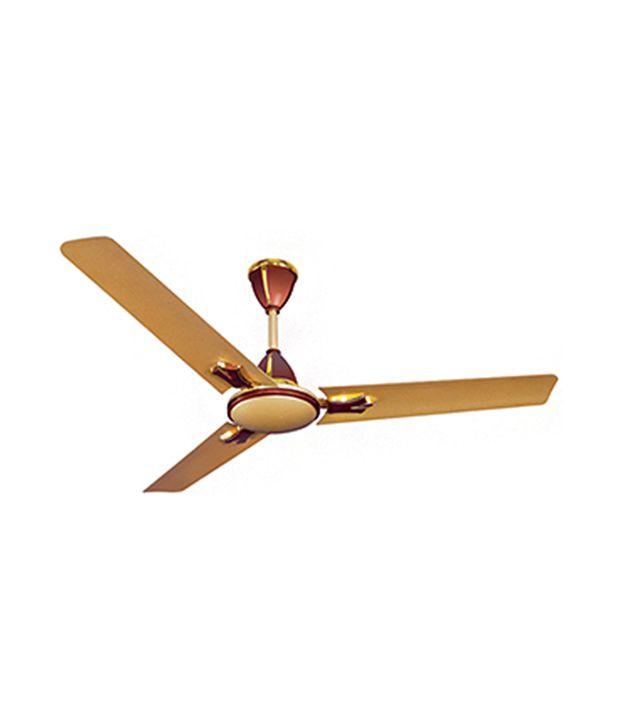 Crompton Greaves Flavia 1200 Mm Ceiling Fan Golden Brown