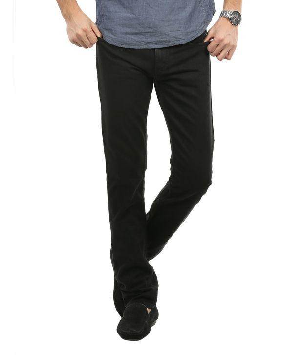 Blumerq Trendy Black Basics Jeans