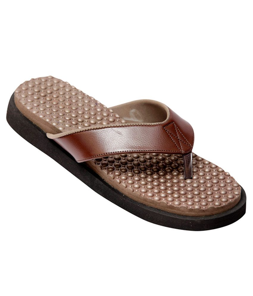 58204c260d Healthsole Diabetic and Orthopedic Footwear- Brown: Buy Online at Best  Price in India on Snapdeal