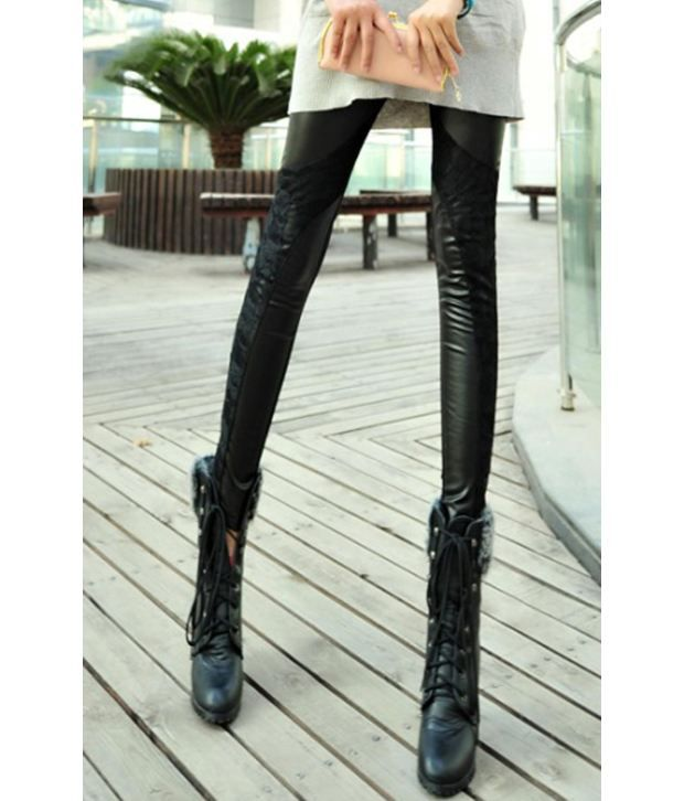 f4ff15675fe60 Buy Fashion Street Black Women - Leggings Online at Best Prices in India -  Snapdeal