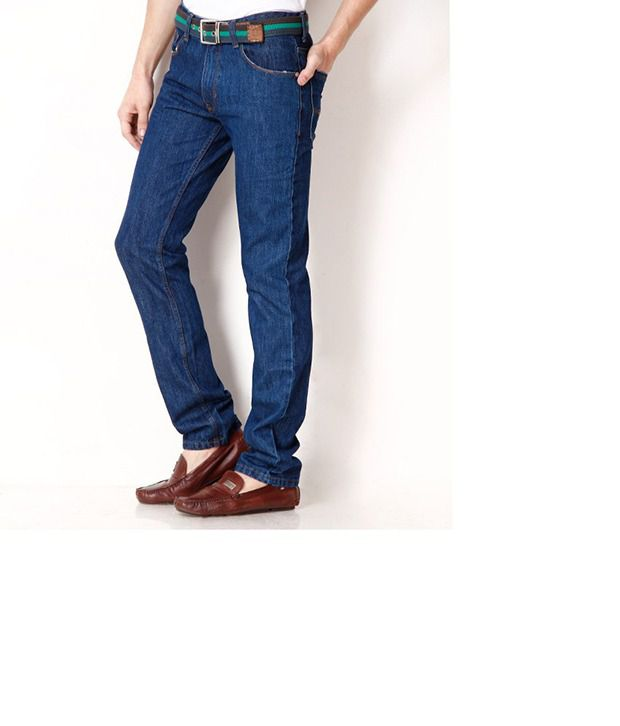 HDI Dark Blue Regular Fit Basic Jeans